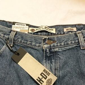 NWT Harley Davidson Relaxed Jeans Size 40